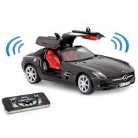 The iPhone Controlled Musical Mercedes SLS
