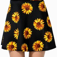 Sunflower Skater Skirt
