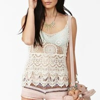 Tiered Crochet Tank in What&#x27;s New at Nasty Gal