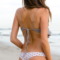 The Girl and The Water - Tori Praver - Little Kalani Bikini Bottom / Superba Rust - $92