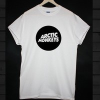 ARCTIC MONKEYS  T-SHIRT INDIE ROCK GRUNGE HIPSTER MENS WOMENS TOP !!