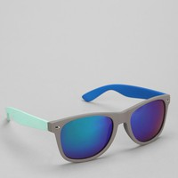 Colorblock Matte Square Sunglasses - Urban Outfitters