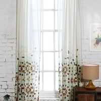 Magical Thinking Moroccan Tile Curtain - Urban Outfitters