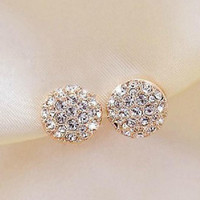 Stud earrings s456 a