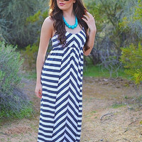 Closet Candy Boutique · The Gulf Shore Maxi - Grey
