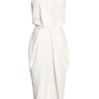 White Wash Suiting White Wash Dress by Dion Lee - Moda Operandi