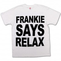 Frankie Says Relax T-Shirt | Friends T-Shirt - NBC Store