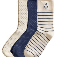 3-pack Socks - from H&M