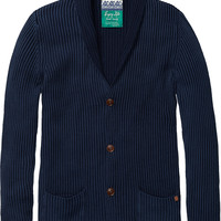 shawl collar cardigan - Scotch & Soda