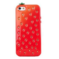 Candy Color Strawberry Phone Shell Case for Iphone5/5s