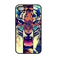 amtonseeshop Various New Stylish Personalized Protective Snap On Hard Plastic Case For iphone 4 4G 4S (Tiger Roar)