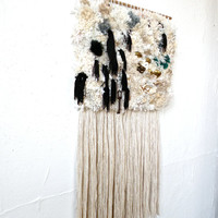 Handwoven Tapestry - Furry snow
