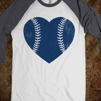 BASEBALL LOVE NAVY