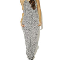 Mini Chevron Surplus Jumpsuit | Arden B.