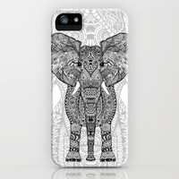 AZTEC ELEPHANT iPhone & iPod Case by Monika Strigel