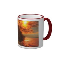 Beautiful Sunset Above The Ocean Coffee Mug