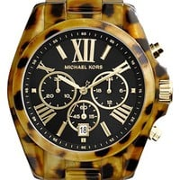 Michael Kors 'Bradshaw' Chronograph Resin Bracelet Watch, 43mm | Nordstrom