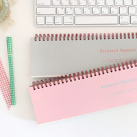 Weekly Schedule Desk Notepad