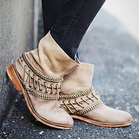 Free People Womens Wanderlove Ankle Boot -