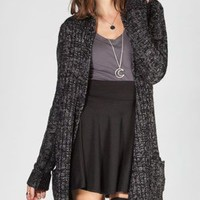 FULL TILT Womens Cable Knit Cardigan