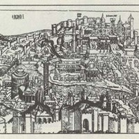 Rome: 1493 - REPRODUCTION MAPS