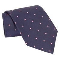 Brooks Brothers Dot Repp Woven Silk Tie at Von Maur