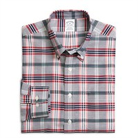Brooks Brothers Regular Fit Non Iron Long Sleeve Tartan Shirt at Von Maur