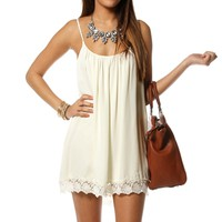 Pre-Order: Peach Sleeveless Crochet Tunic
