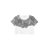 Mellanda top print | Tops | Monki.com