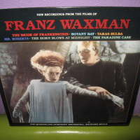 Rare Vinyl Record The Films of Franz Waxman Themes SEALED LP 1986 Bride of Frankenstein