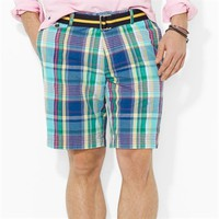 Polo Ralph Lauren Classic-Fit Hudson Madras Short at Von Maur