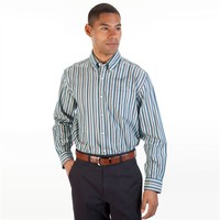 Cutter & Buck Regular Fit Long Sleeve Low Tide Shirt at Von Maur