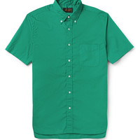 Beams Plus - Slim-Fit Button-Down Collar Cotton Shirt | MR PORTER