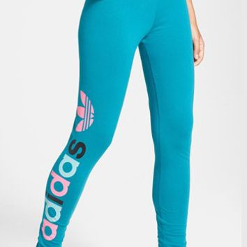 adidas Trefoil Logo Leggings (Online Only)