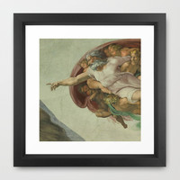 Sistine Chapel Framed Art Print by Beautifulhomes