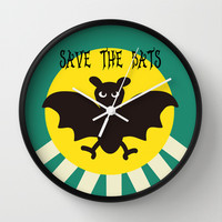 Save the Bats Wall Clock by BATKEI