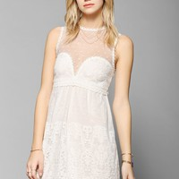 DV By Dolce Vita Rosabella Lace Shift Dress - Urban Outfitters