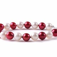 Buy Texas Tech Red Raiders Spirit Pearl Bracelet. Free Shipping