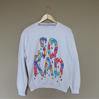 So Rad - White Crewneck Sweatshirt /