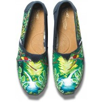 Navy Eylse's Bird Haiti Artist Collective Women's Classics
