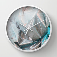 nacre Wall Clock by austeja saffron