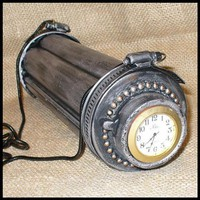 Steampunk MAGICAL Clutch Purse Gothic by oldjunkyardboutique