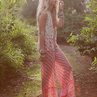 Free People Womens Vintage Tube Romper -
