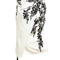 ANN DEMEULEMEESTER | Floral Printed Silk Top | Browns fashion & designer clothes & clothing