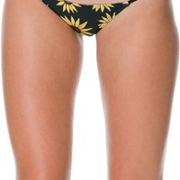 MANDALYNN MORGAN SUNFLOWER BIKINI BOTTOM