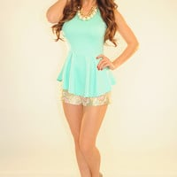 RESTOCK: All We Know Top: Mint