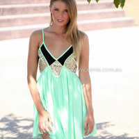 PRE ORDER - LINCOLN 2.0 DRESS (Expected Delivery 31st March, 2014) , DRESSES, TOPS, BOTTOMS, JACKETS & JUMPERS, ACCESSORIES, 50% OFF SALE, PRE ORDER, NEW ARRIVALS, PLAYSUIT, COLOUR, GIFT VOUCHER,,Green,SLEEVELESS Australia, Queensland, Brisbane