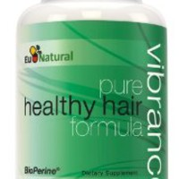 Vibrance Vitamins for Hair Growth, 60 Vegetarian Capsules (Pure Formula for Thicker, Longer, and More Vibrant Hair)
