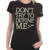 Divergent Don't Define Me Girls T-Shirt
