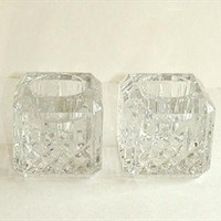 Waterford Crystal Candle Holders